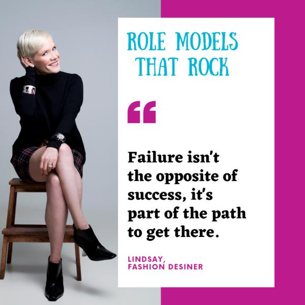 Lindsay Nichols Fashion Designer Empower Girl